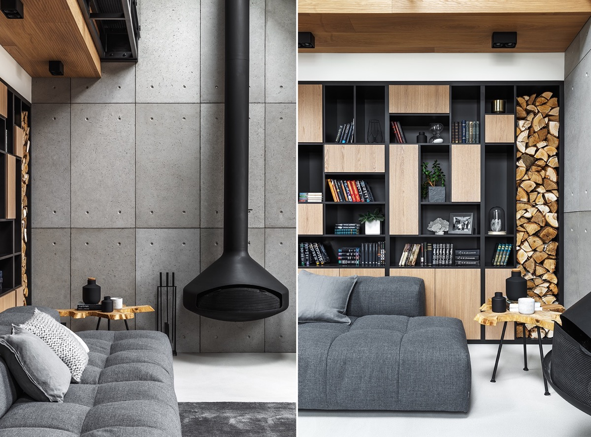 2 Gorgeous Attic Apartments That Use Grey As Base images 19
