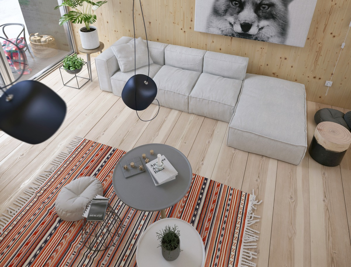 Modern Cabin Interior Design: 4 Inspiring Examples To Get Your Creative Juices Flowing images 1