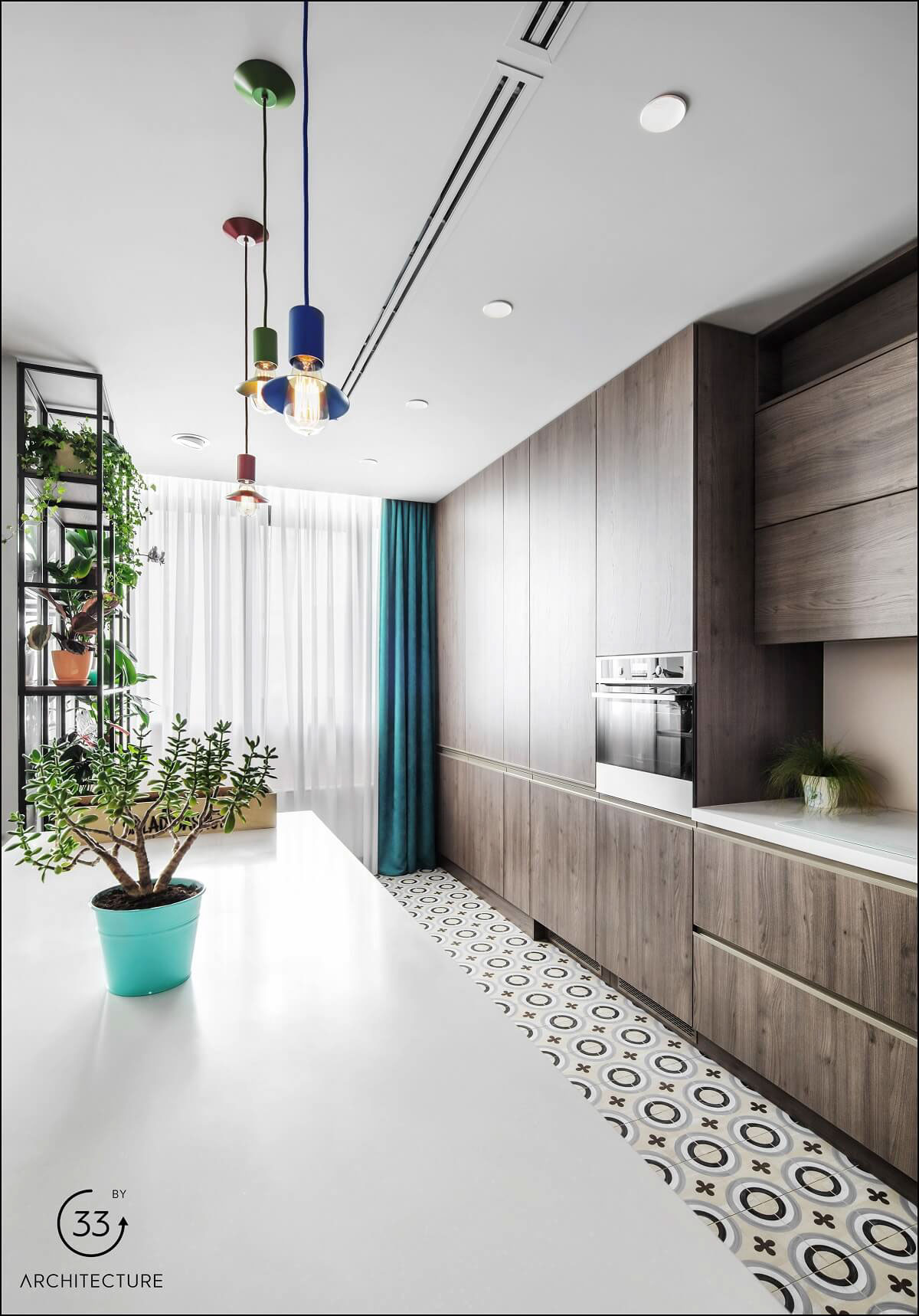 Apartment With Energised Colour Scheme images 10