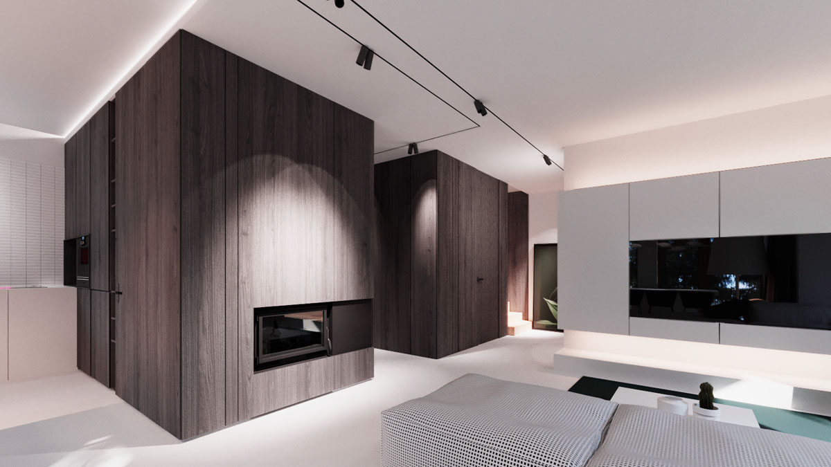 Interior Design Around Walnut Wood Finishes: 3 Great Examples images 17