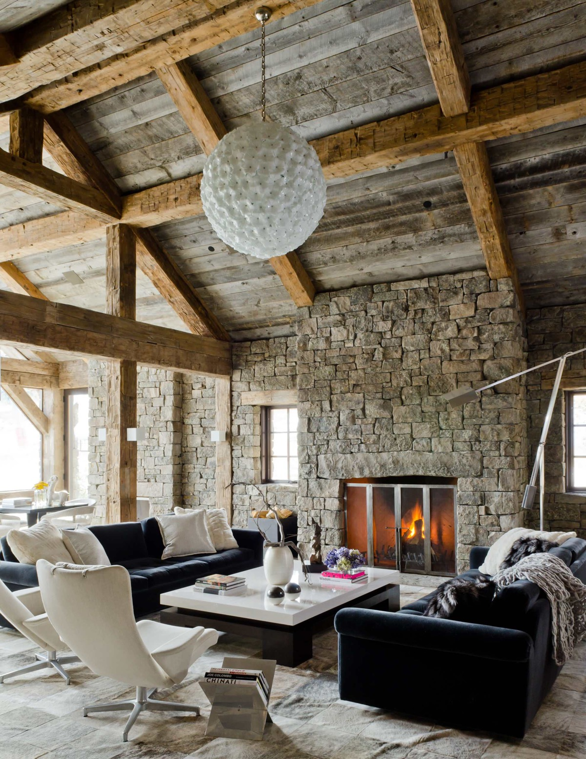Detailed Guide & Inspiration For Designing A Rustic Living Room images 3