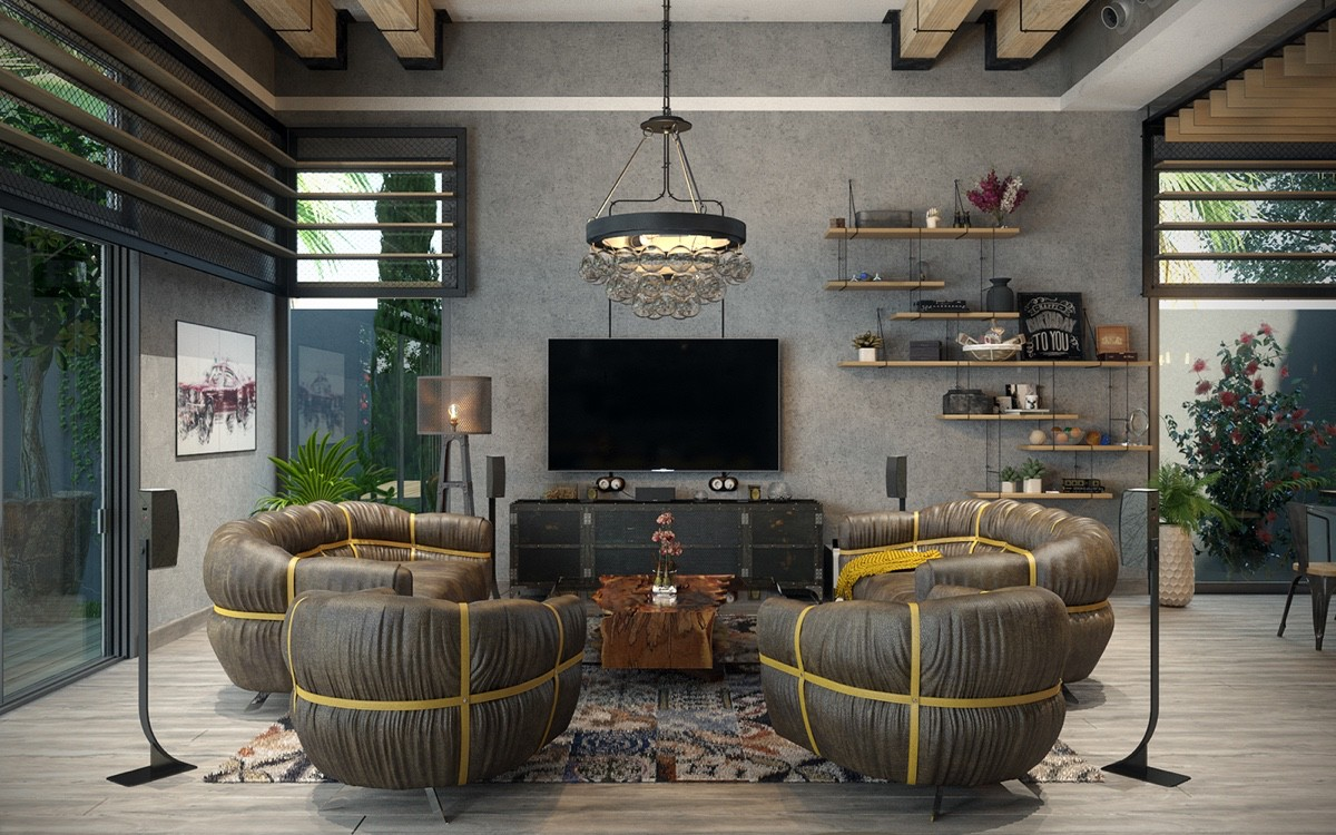 Detailed Guide & Inspiration For Designing A Rustic Living Room images 30