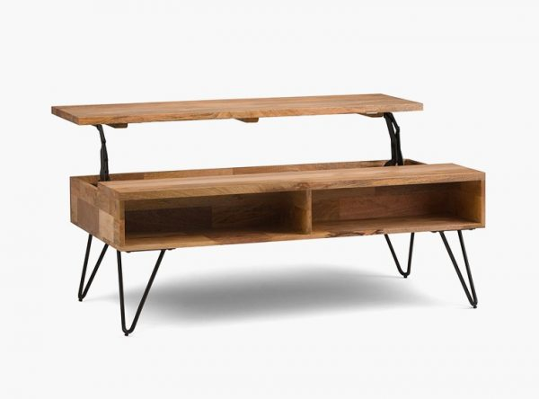 33 beautiful lift top coffee tables to help you declutter for Buy coffee table legs
