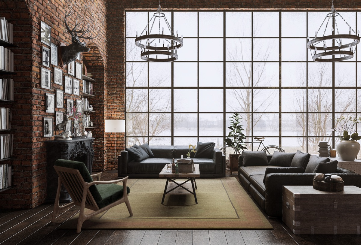 Detailed Guide & Inspiration For Designing A Rustic Living Room images 19