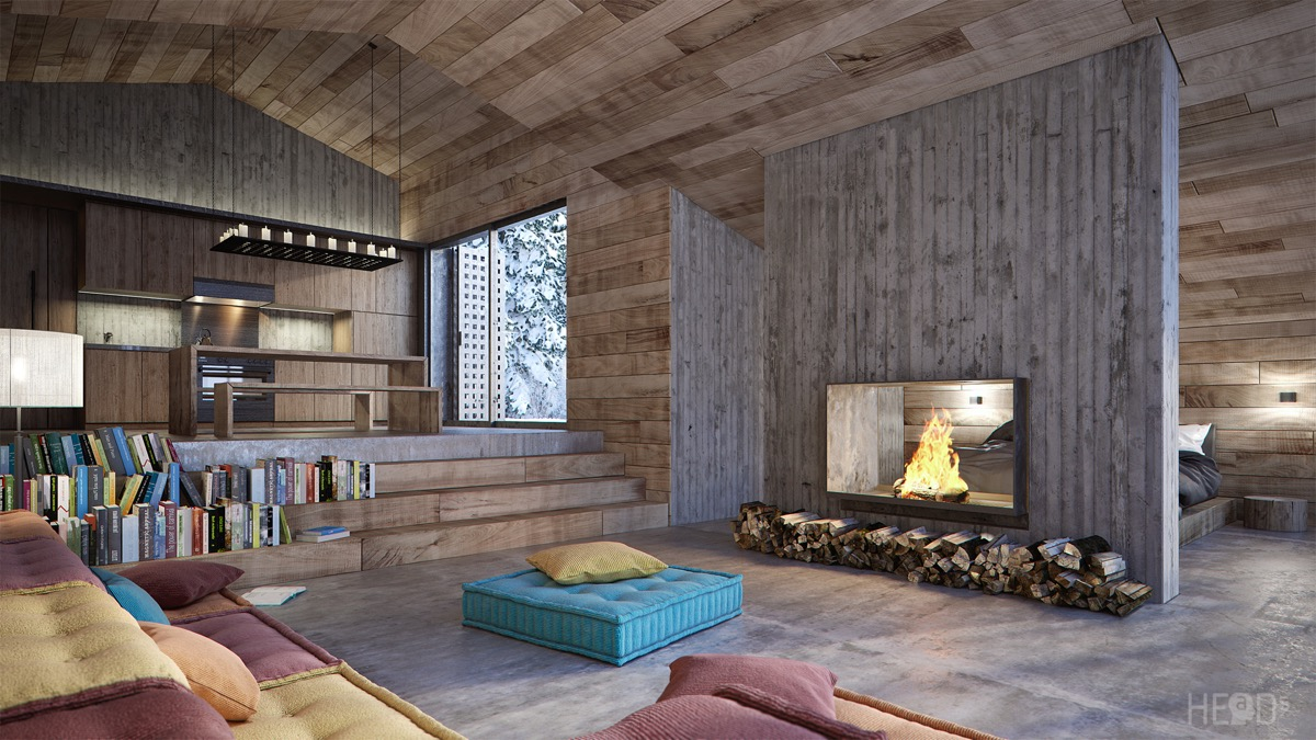Modern Cabin Interior Design: 4 Inspiring Examples To Get Your Creative Juices Flowing images 14