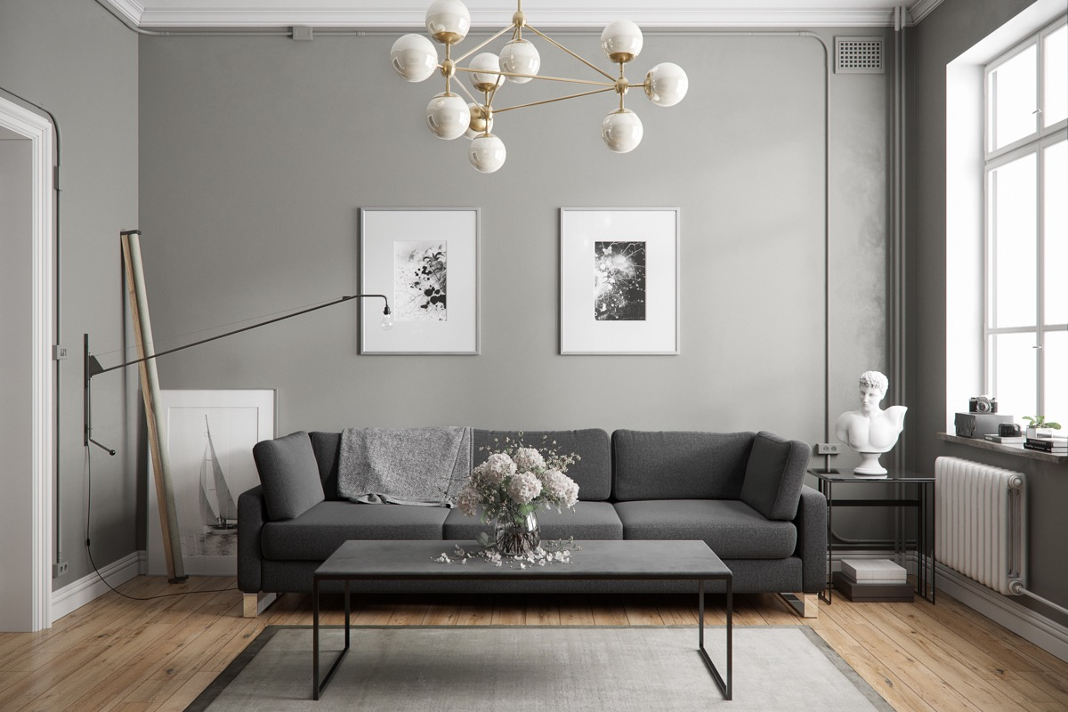 40 Grey Living Rooms That Help Your Lounge Look Effortlessly ...