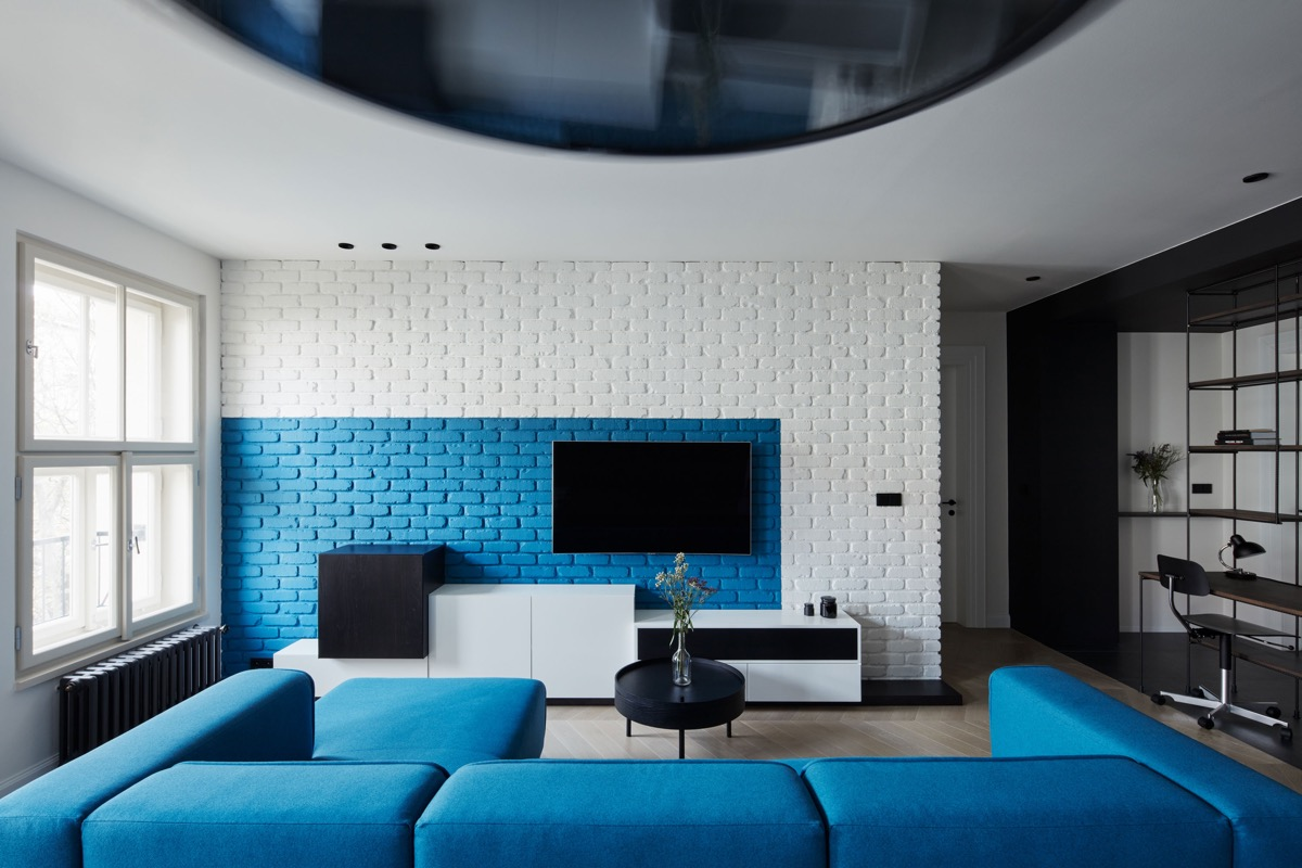 30 Blue Living Rooms To Relax The Mind, Body And Soul
