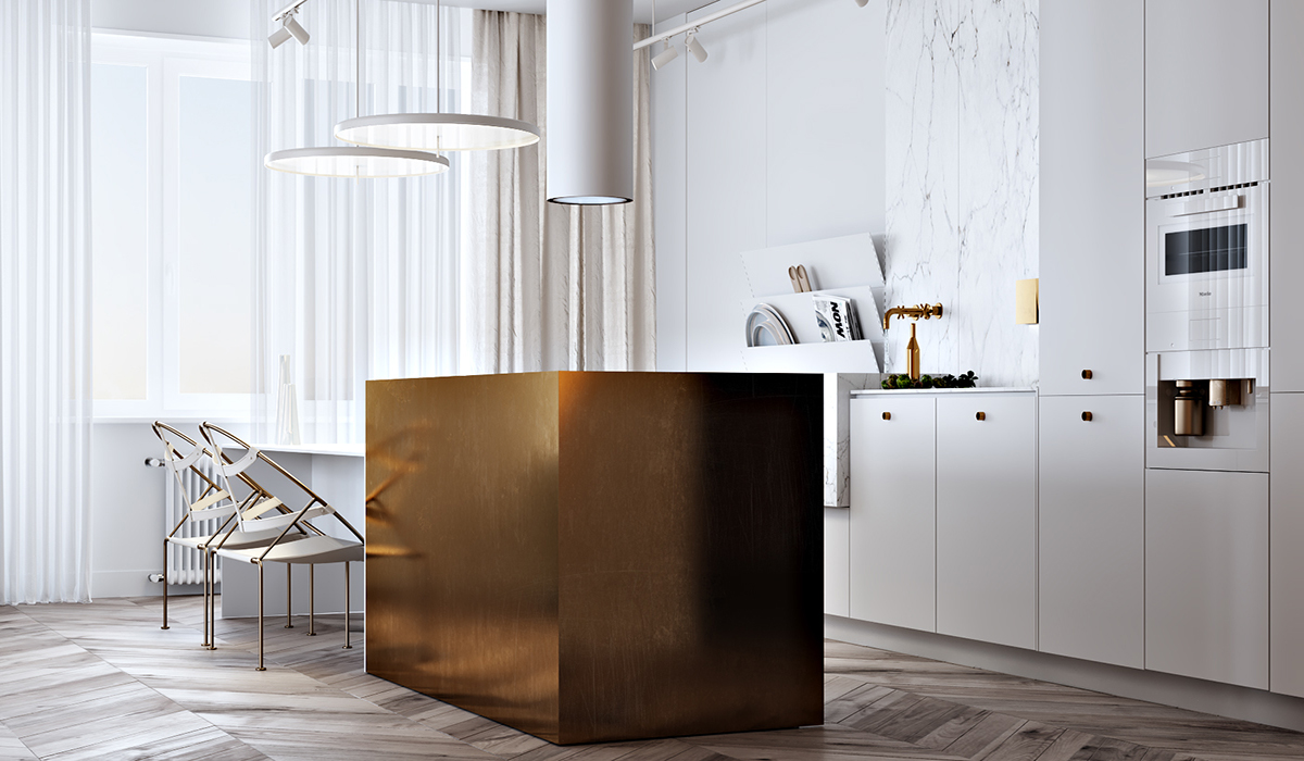 Using Gold Accents In Interior Design images 5