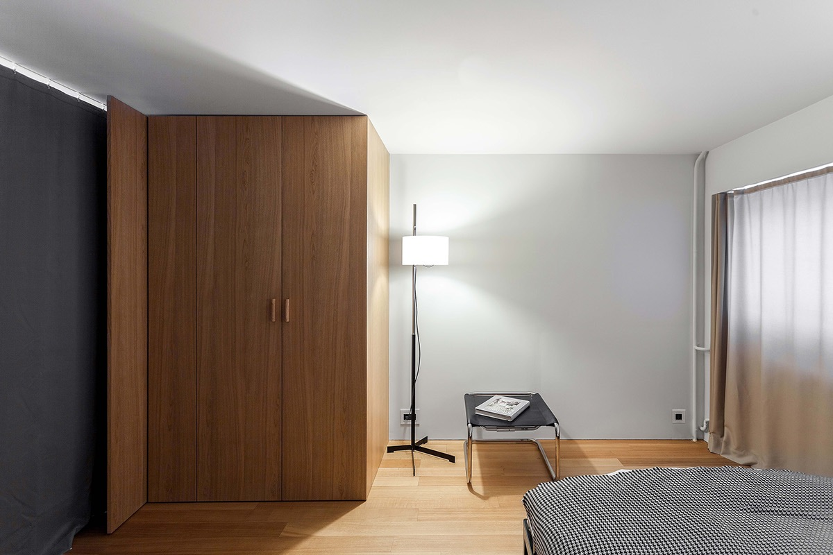 Compact Multifunctional Flat With Zoning Ideas images 20