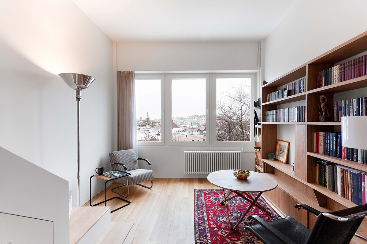 Compact Multifunctional Flat With Zoning Ideas images 1