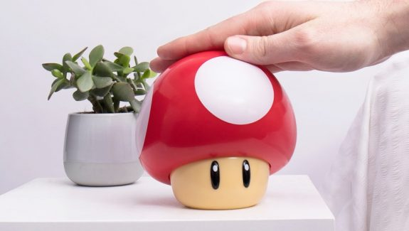 Product Of The Week: The Super-cute Super Mario Mushroom Lamp