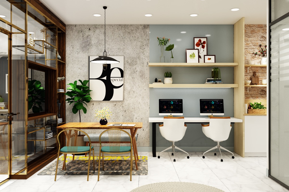 Contemporary Home Office Design Ideas: 51 Modern Home Office Design Ideas For Inspiration