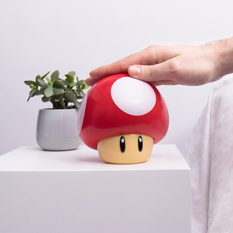 Product Of The Week The Super Cute Super Mario Mushroom Lamp
