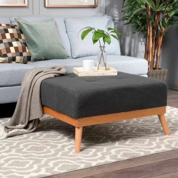 BUY IT · Mid Century Style Square Ottoman Coffee Table: ...