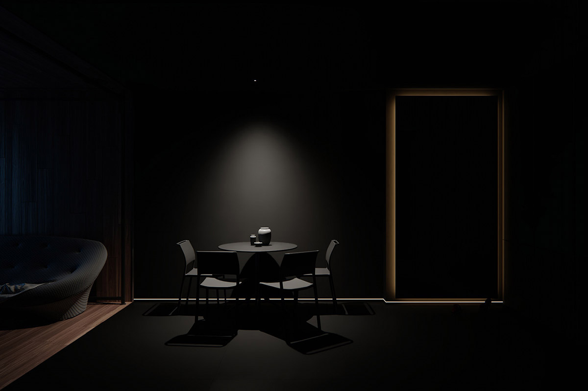 Dark Decor For A Night Owl images 7