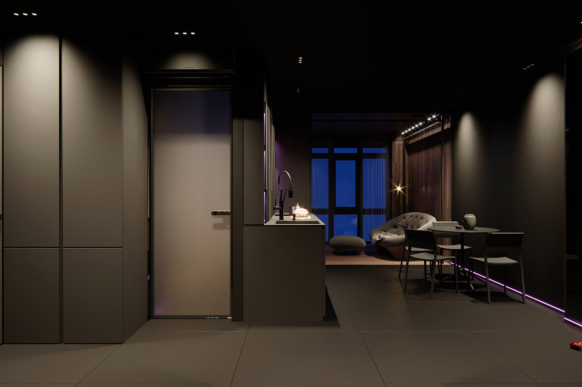 Dark Decor For A Night Owl images 8