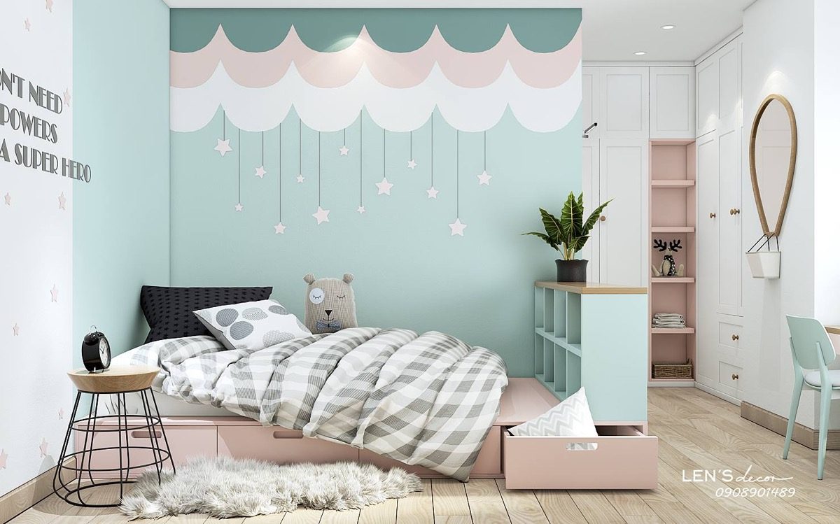 40 awesome kids rooms that use the pastel color palette rh home designing com