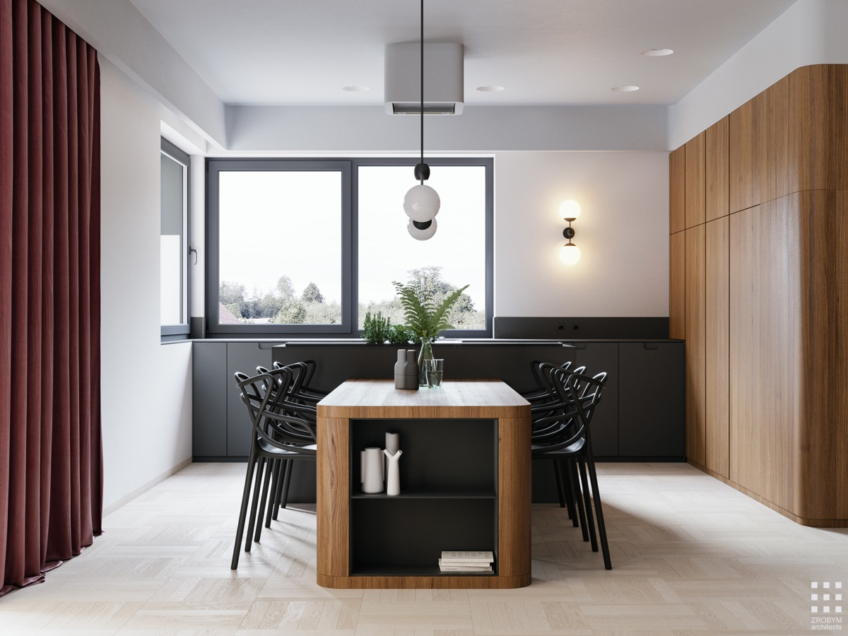 33 Black Dining Rooms That Your Dinner Guests Will Adore images 17