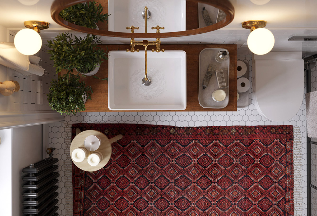 Earthy Eclectic Scandinavian Style Interior images 27
