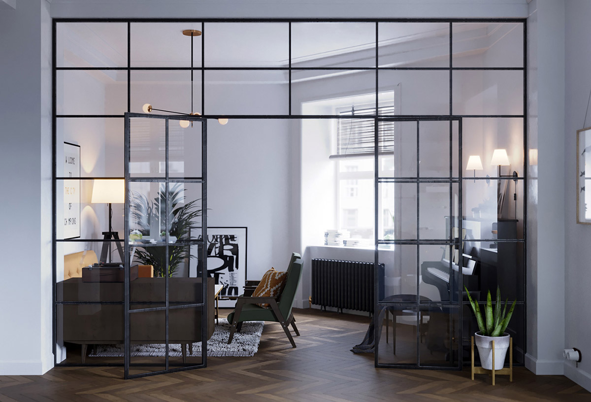 Earthy Eclectic Scandinavian Style Interior images 9