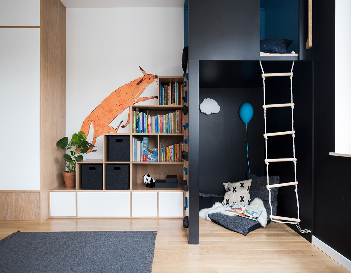 Scandinavian Style Interior With Pink And Blue Accents images 20