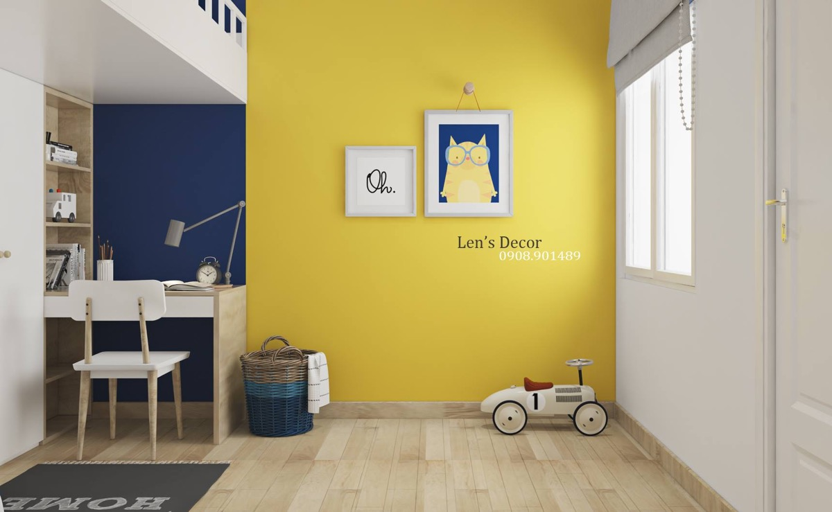 Yellow Kids\' Rooms: How To Use & Combine Bright Decor