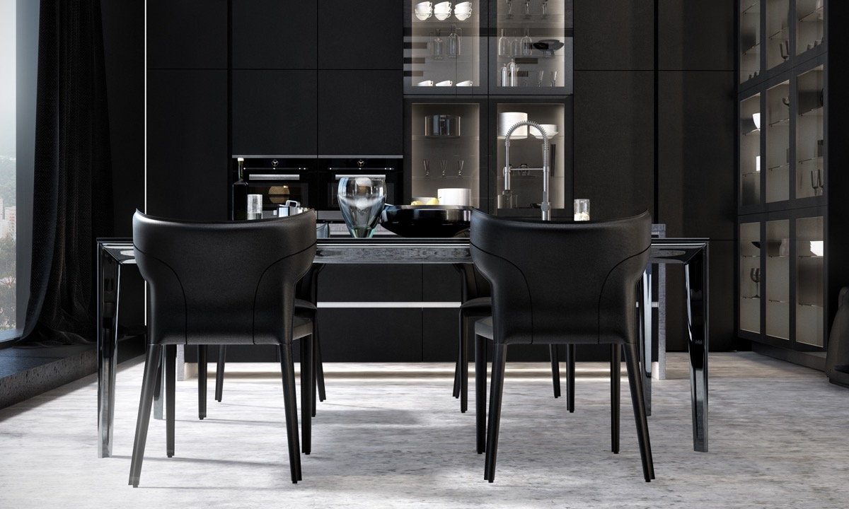 33 Black Dining Rooms That Your Dinner Guests Will Adore