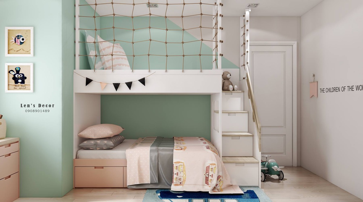 40 Awesome Kids Rooms That Use The Pastel Color Palette Main Door