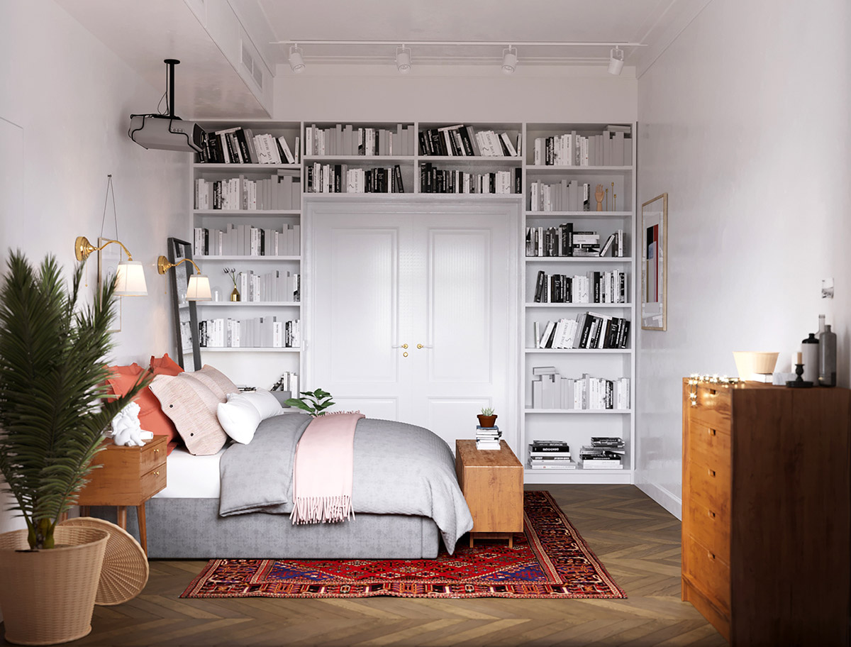 Earthy Eclectic Scandinavian Style Interior images 18