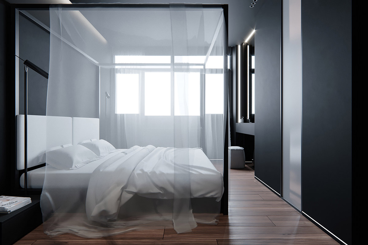 Dark Decor For A Night Owl images 14