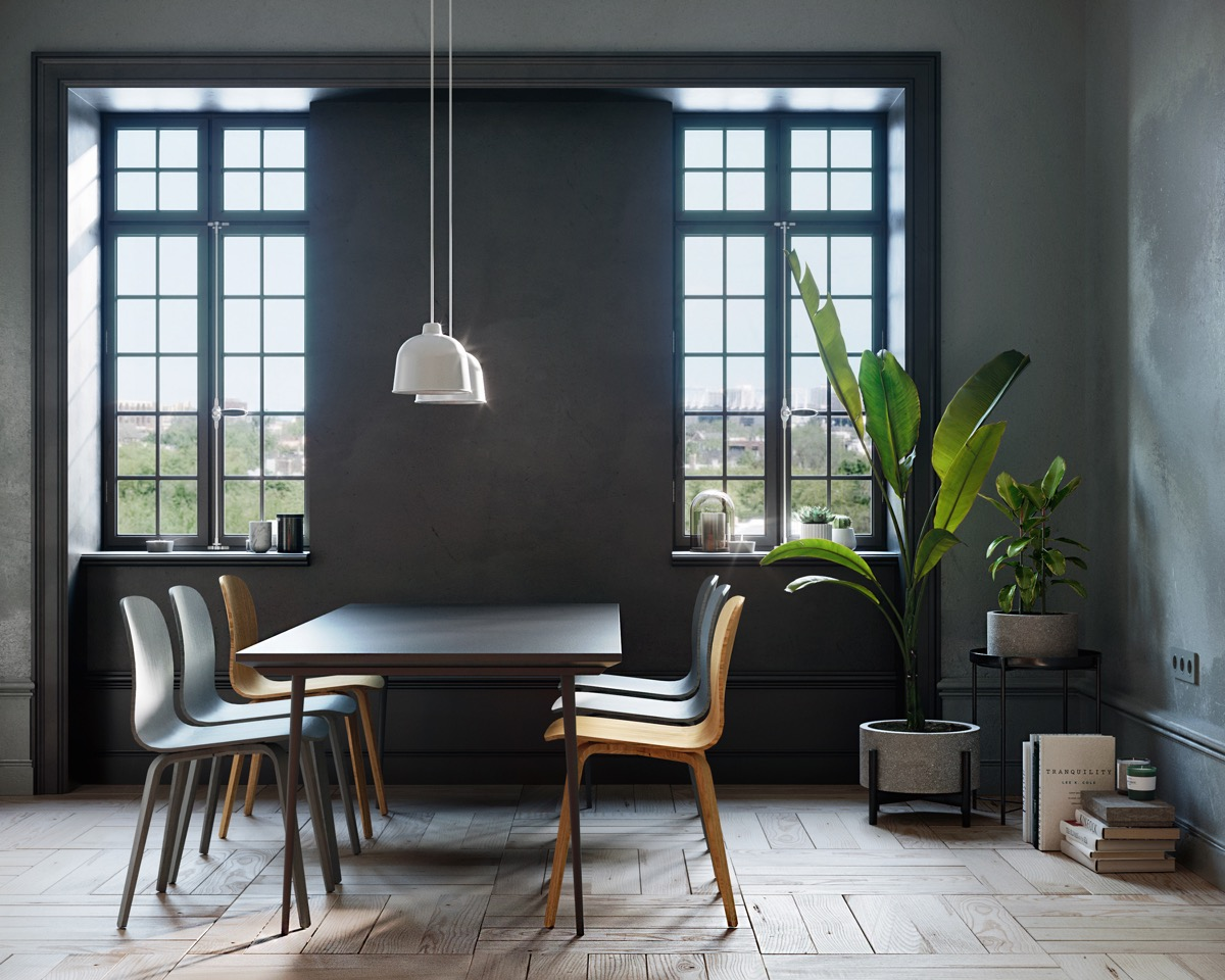 33 Black Dining Rooms That Your Dinner Guests Will Adore images 7