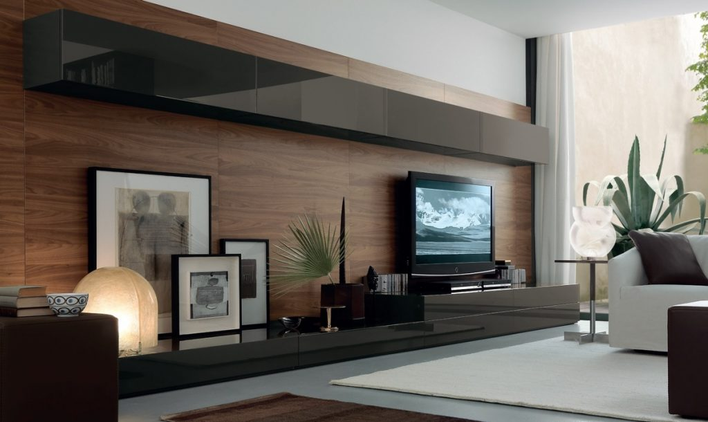 50 Ideas To Decorate The Wall You Hang Your Tv On,Scandinavian Living Room Design