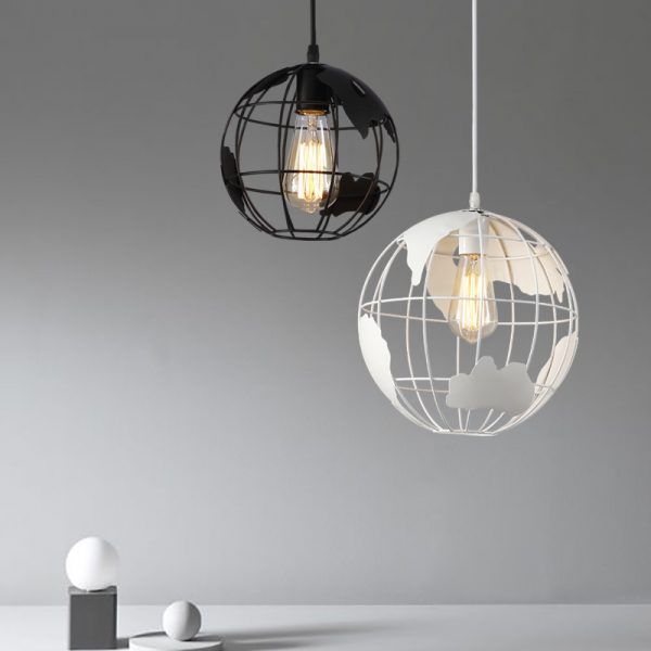 50 beautiful globe pendant lights from metal to glass to paper buy it world map globe pendant gumiabroncs Images