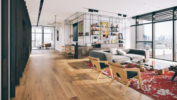 Pop Art Style Penthouse In Tel Aviv
