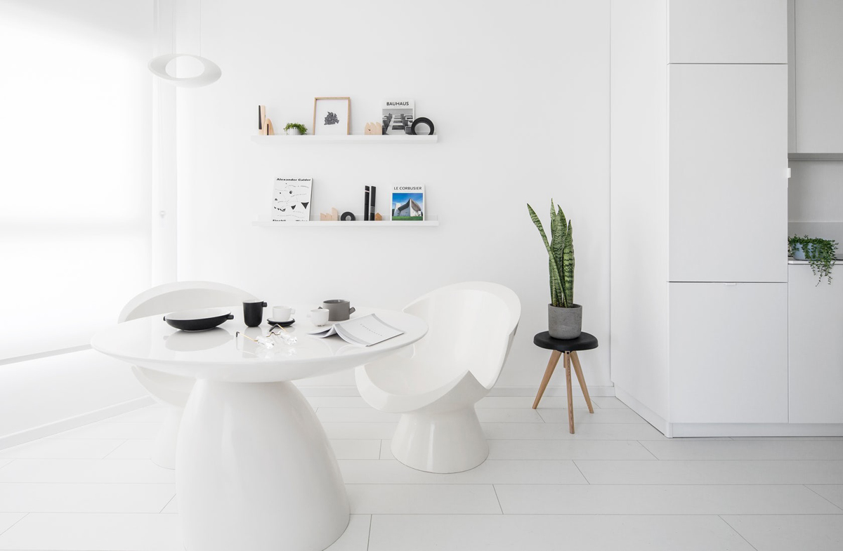 All-White Interior Design: Tips With Example Images To Help You Get It Right images 13