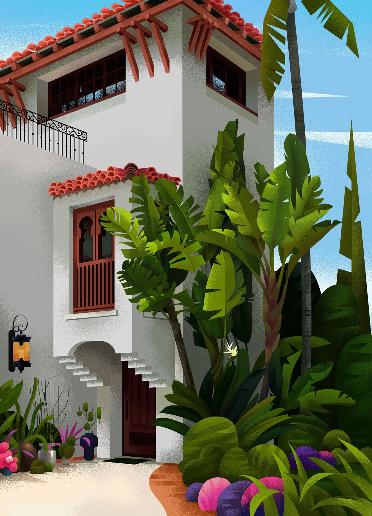 Captivating Architectural Illustrations Of Homes Around The World images 18