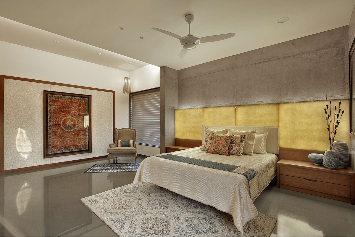 A Colour Rich Indian Home With Concrete Architecture And Interiors images 15