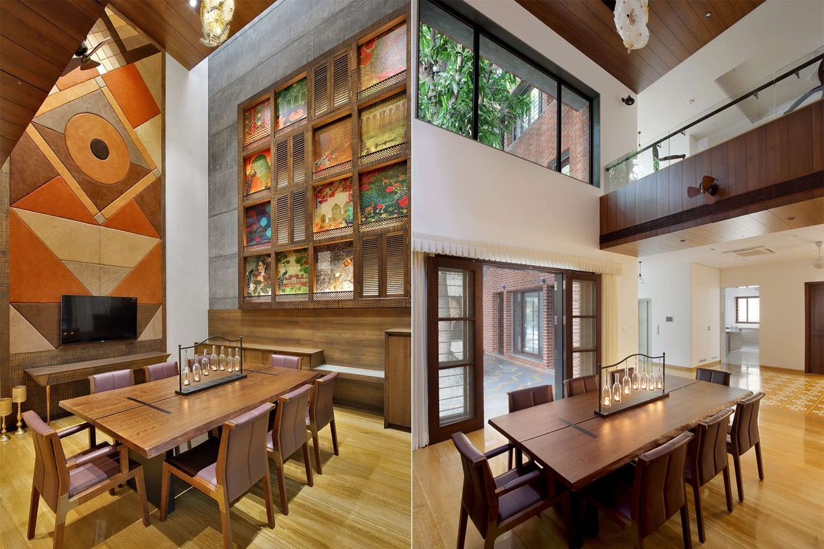 A Colour Rich Indian Home With Concrete Architecture And Interiors images 7