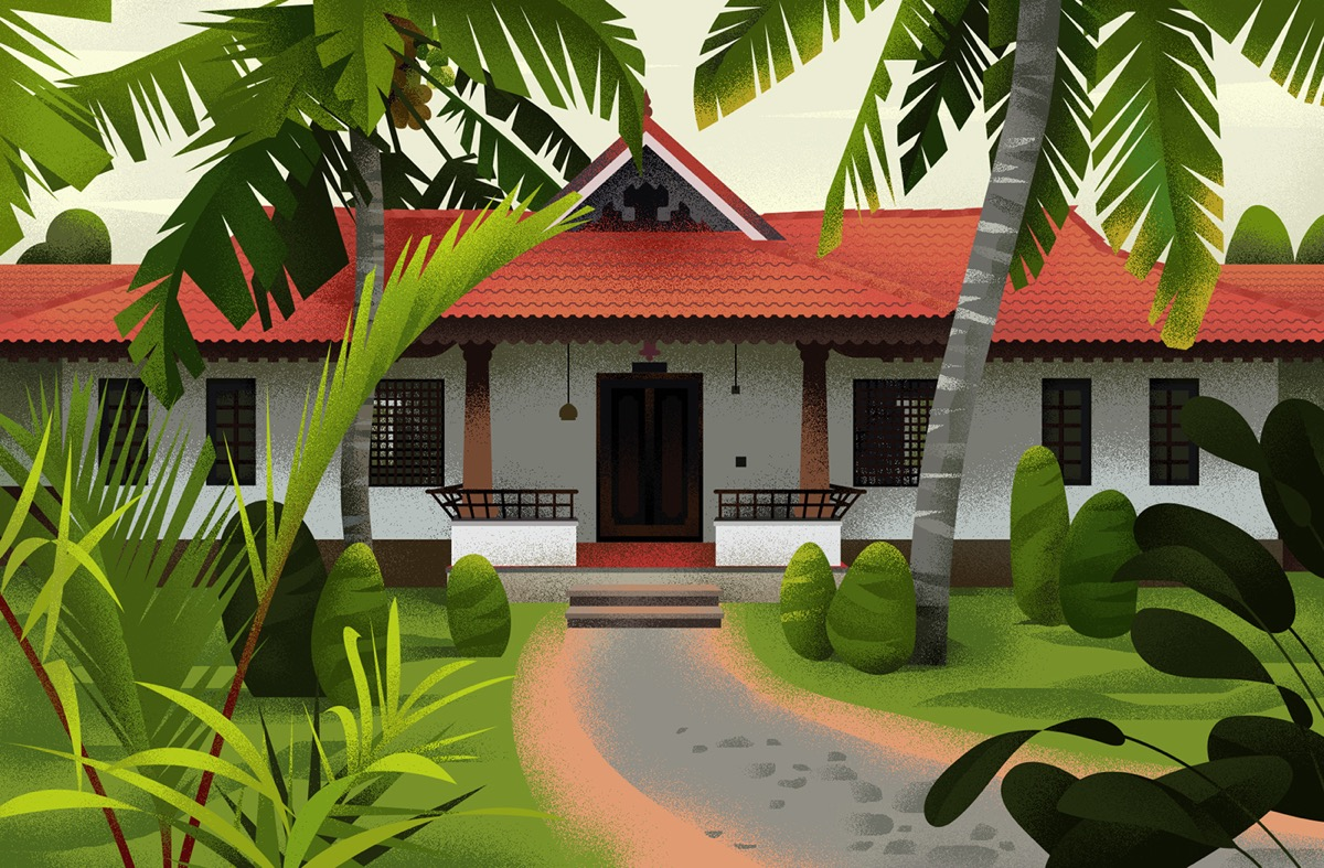 Captivating Architectural Illustrations Of Homes Around The World images 19
