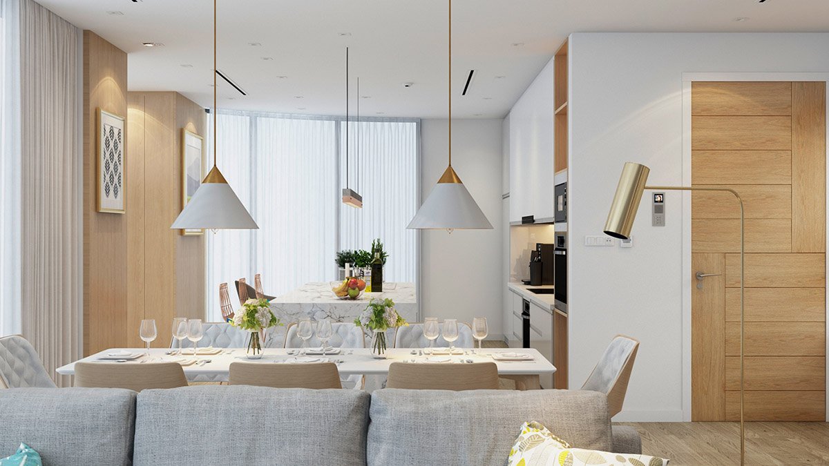 4 Bright & Cheerful Interiors That Use White & Wood To Good Effect images 29