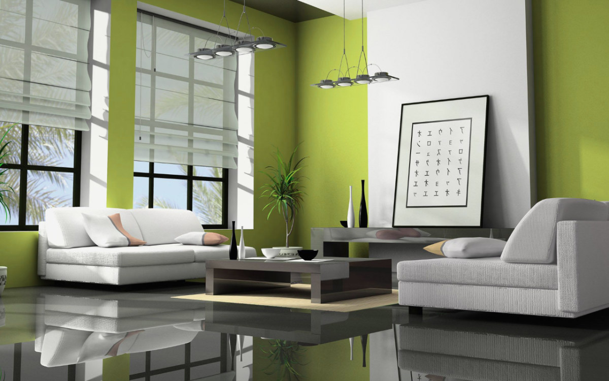 30 Gorgeous Green Living Rooms And Tips For Accessorizing Them images 8