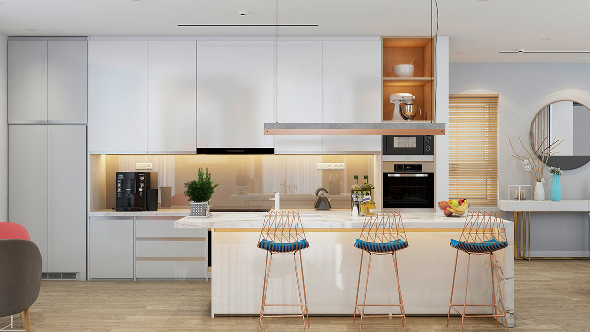 4 Bright & Cheerful Interiors That Use White & Wood To Good Effect images 30