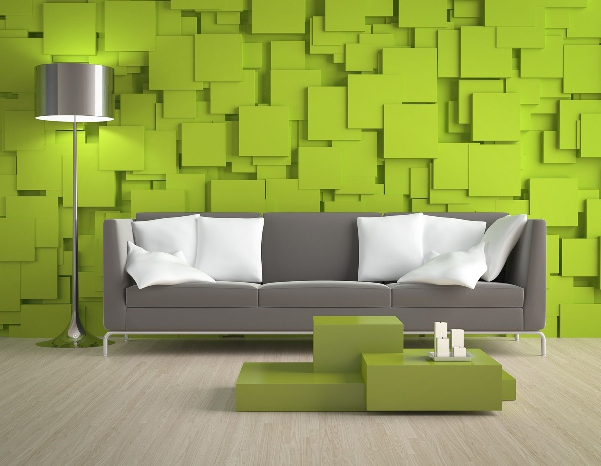 30 Gorgeous Green Living Rooms And Tips For Accessorizing Them images 7
