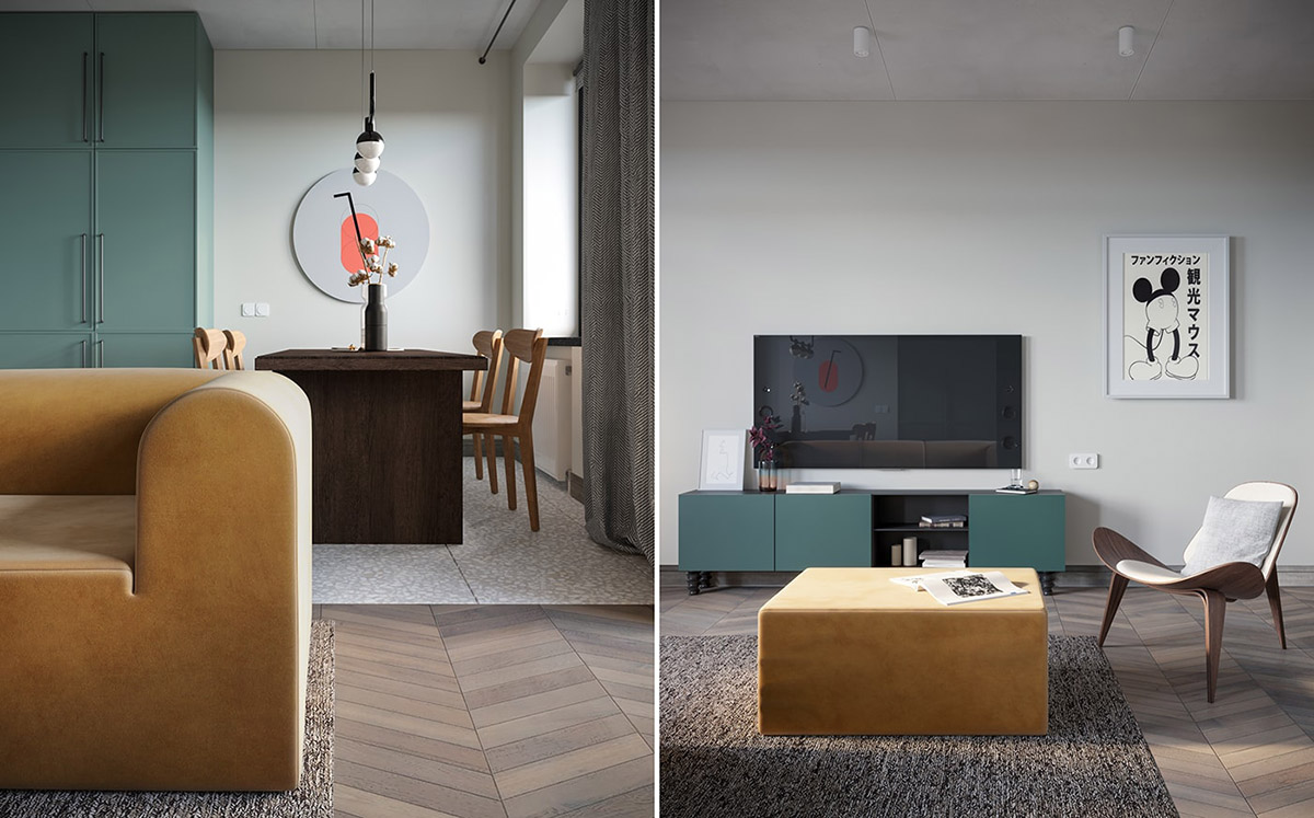 Using Muted Colours and Shapes As Scandi Style Decor images 25