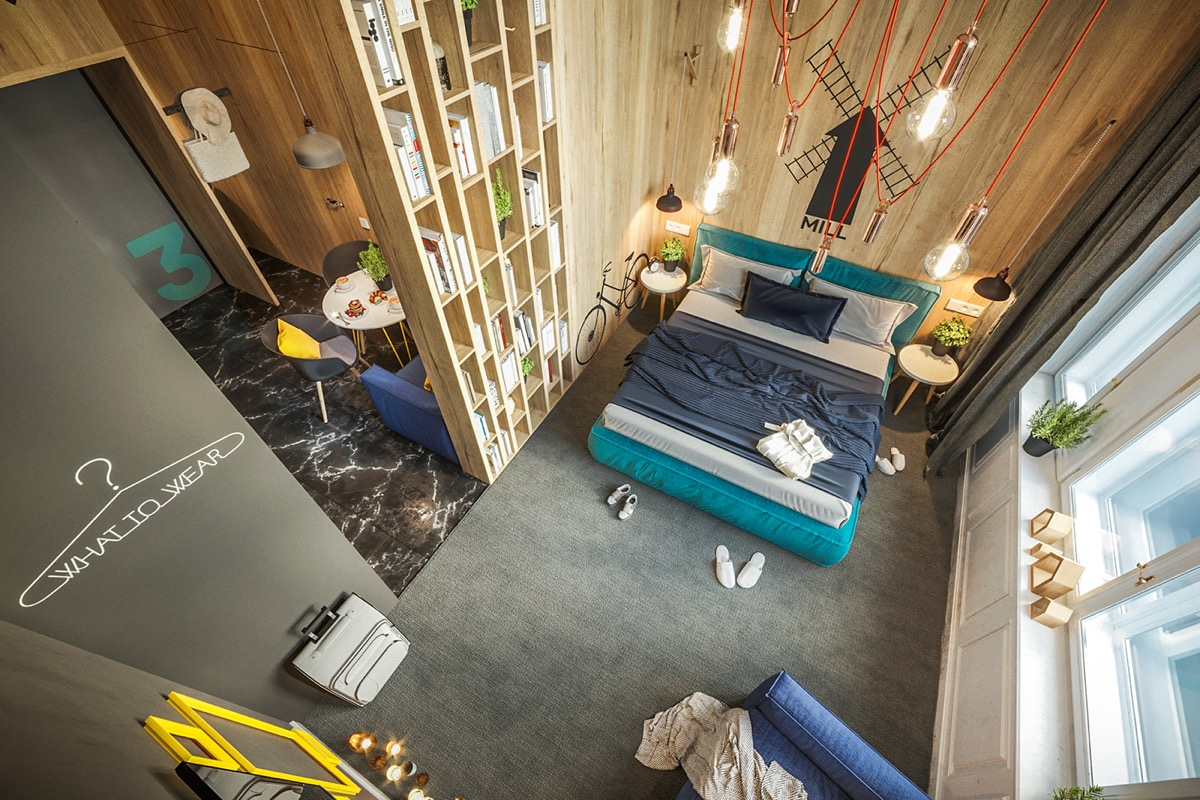 Designing City Themed Bedrooms: Inspiration From 3 Hotel ...