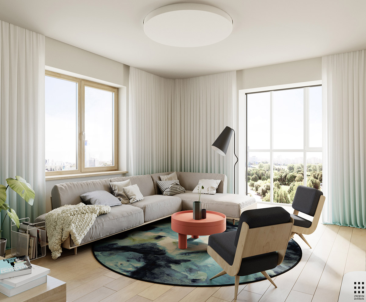 4 Bright & Cheerful Interiors That Use White & Wood To Good Effect images 7