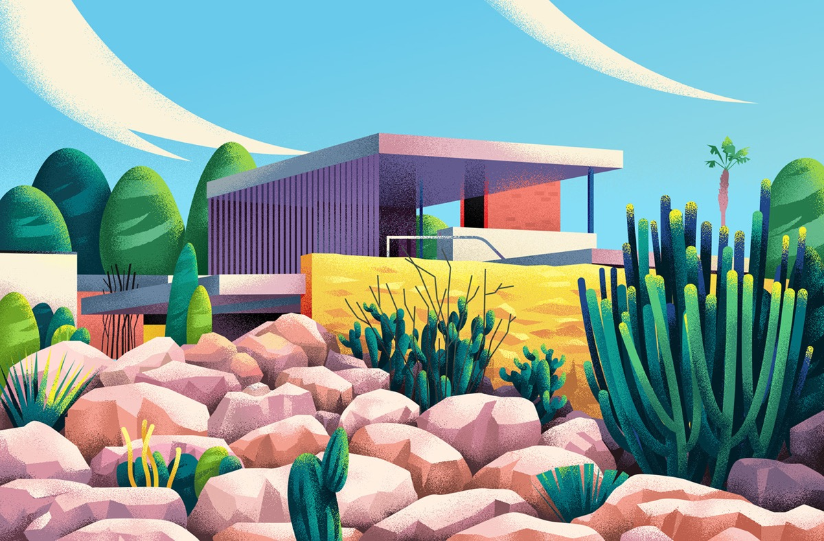 Captivating Architectural Illustrations Of Homes Around The World images 20
