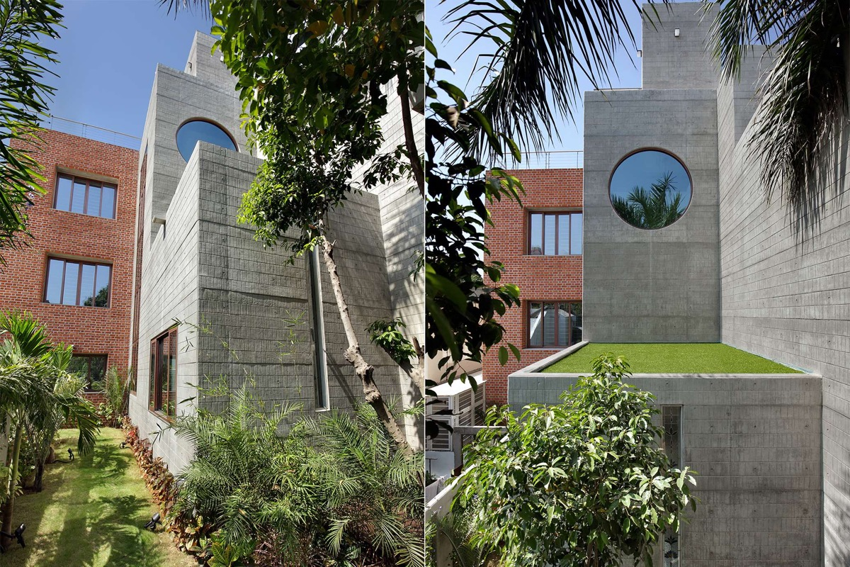 A Colour Rich Indian Home With Concrete Architecture And Interiors images 27