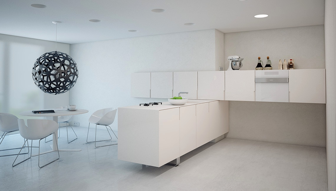 All-White Interior Design: Tips With Example Images To Help You Get It Right images 17