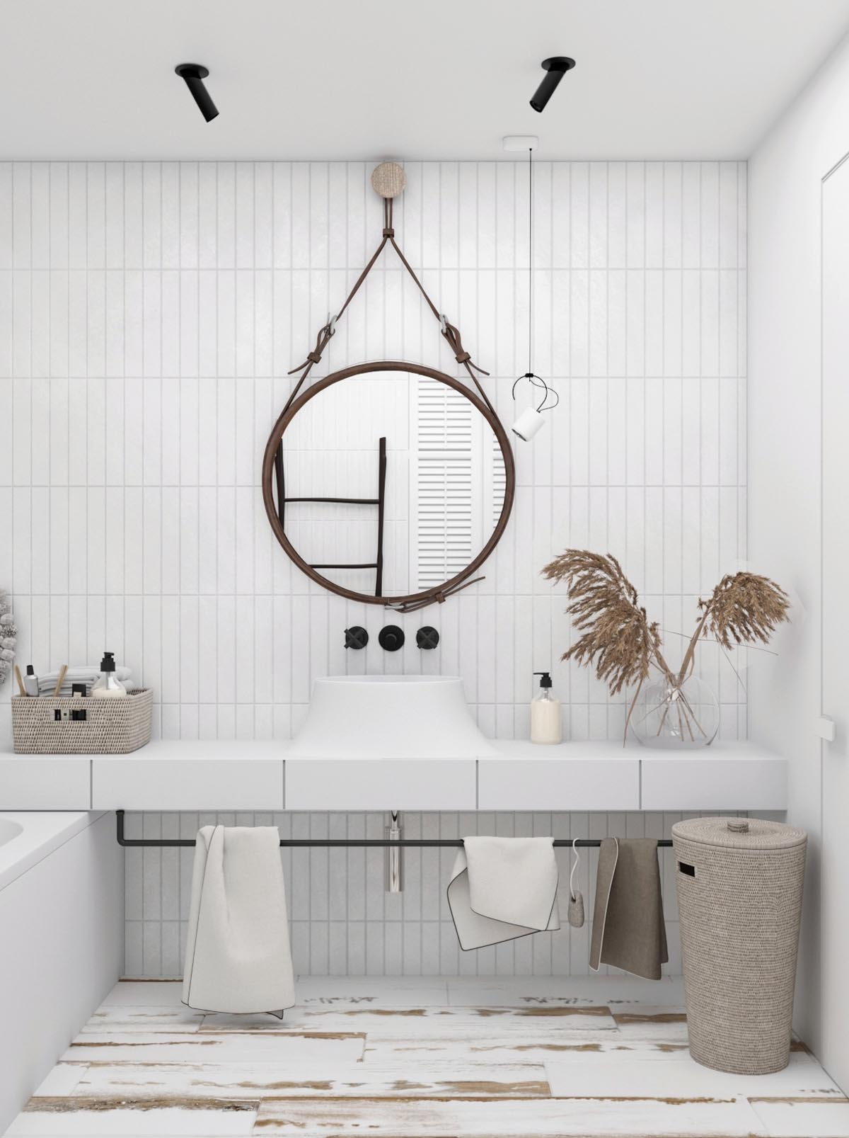 All-White Interior Design: Tips With Example Images To Help You Get It Right images 35